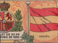 Interior label - flag