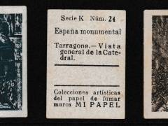 Three Inserts from cigarette papers (30mm x 40mm)