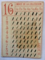 Series 16 index card - used