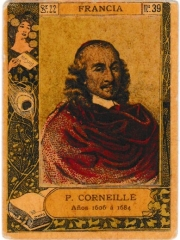 """Series 22 number 39 """"P. Corneille, Francia"""""""