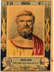 "Series 24 number 1 ""Solón, Grecia"""