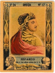 """Series 24 number 17 """"Hiparco, Grecia"""""""