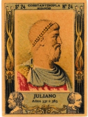 "Series 24 number 24 ""Juliano, Constantinopla"""