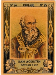 "Series 24 number 25 ""San Agustin, Cartago"""