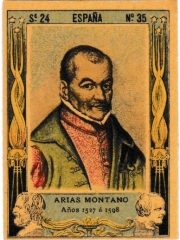 "Series 24 number 35 ""Arias Montano, España"""
