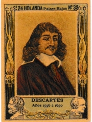 "Series 24 number 38 ""Descartes, Holanda"""