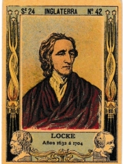 "Series 24 number 42 ""Locke, Inglaterra"""