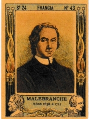 """Series 24 number 43 """"Malebranche, Francia"""""""