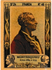 "Series 24 number 46 ""Montesquieu, Francia"""