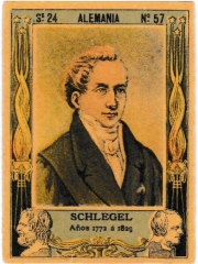 "Series 24 number 57 ""Schlegel, Alemania"""