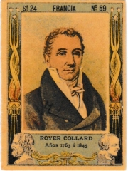 "Series 24 number 59 ""Royer Collard, Francia"""