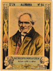"Series 24 number 64 ""Schopenhauer, Alemania"""
