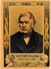 "Series 24 number 65 ""Victor Cousin, Francia"""