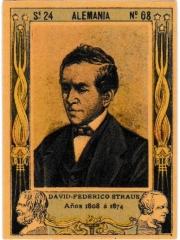 "Series 24 number 68 ""David-Federico Straus, Alemania"""