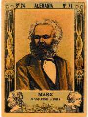 "Series 24 number 71 ""Marx, Alemania"""