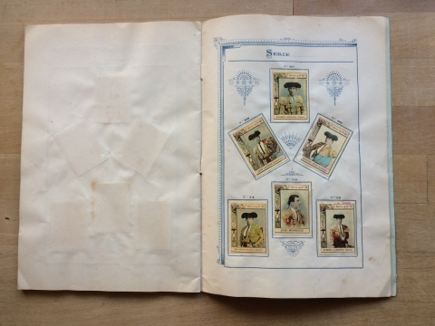 8 : example Inserts page from generic album (Series 14)